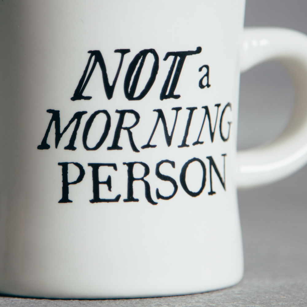 Not a Morning Person Coffee Mug Caffeine Addict Relish Decor