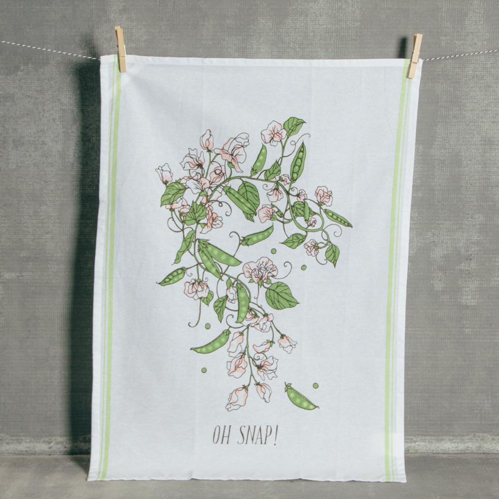 Oh Snap Tea Towel Relish Decor