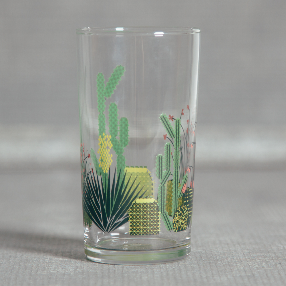 Oldham + Harper Cactus Glass Fishs Eddy Relish Decor