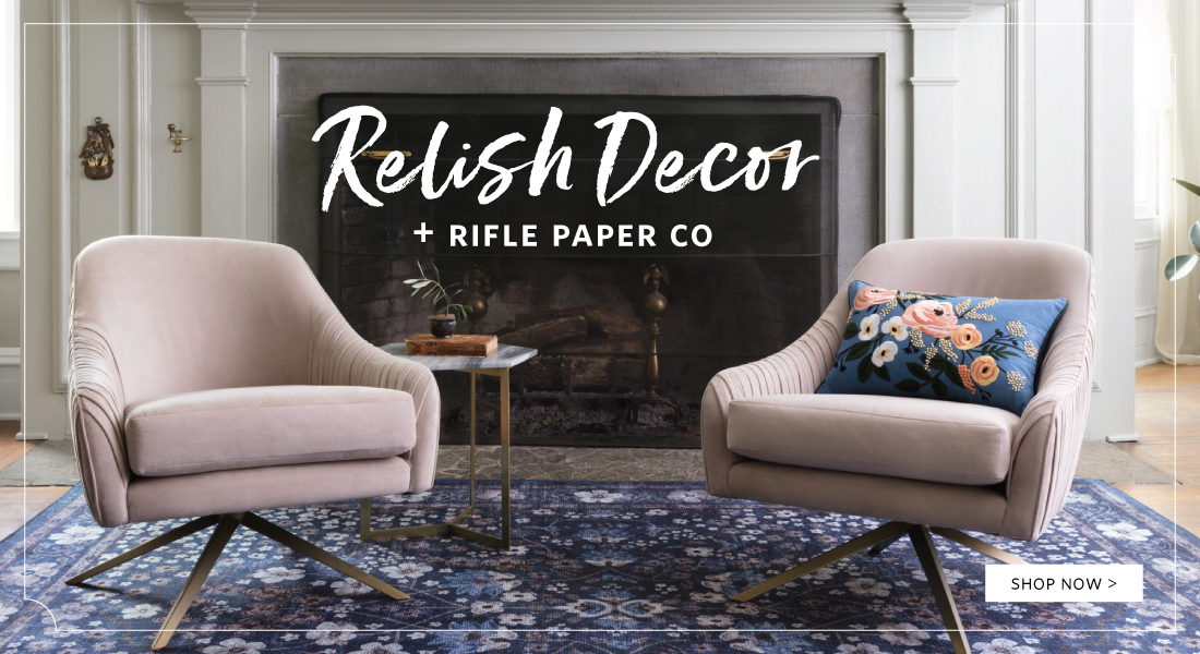 Relish Decor + Rifle Paper Co