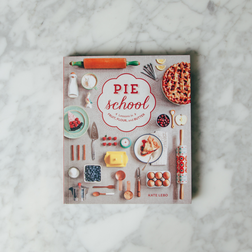 Pie School Cookbook Relish Decor