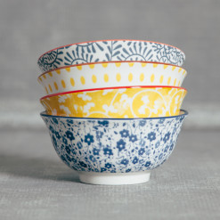 Pippa Pattern Bowls Relish Decor