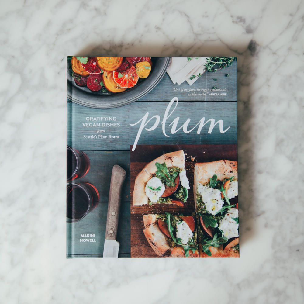 Plum Cookbook Relish Decor Gratifying Vegan Dishes