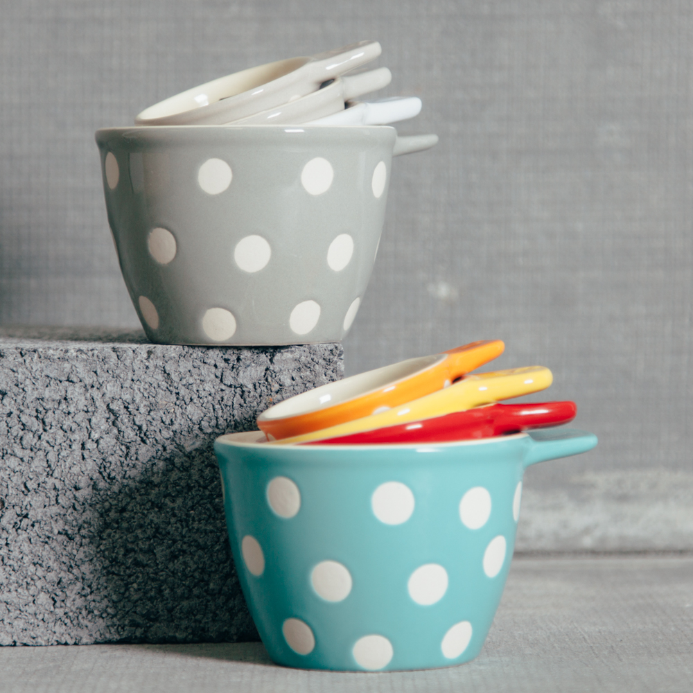 Polka Dot Measuring Cups Relish Decor