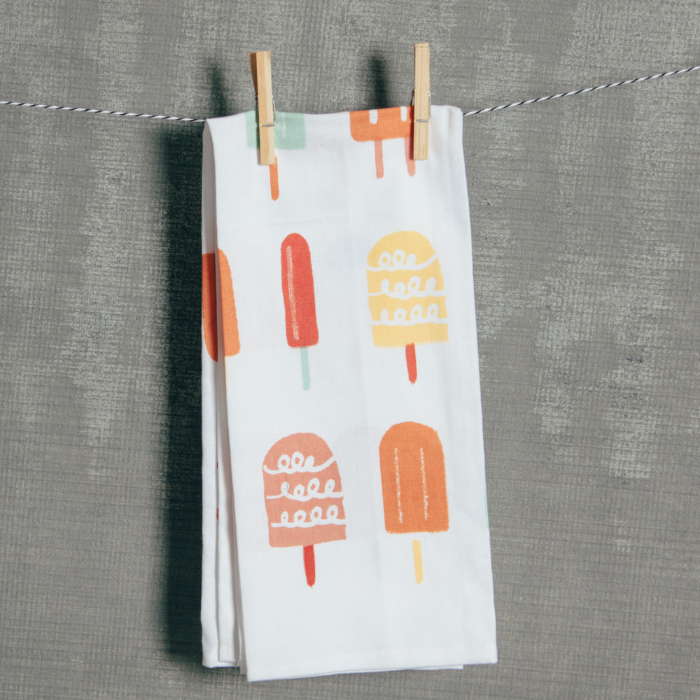 Popsicle Tea Towel Relish Decor