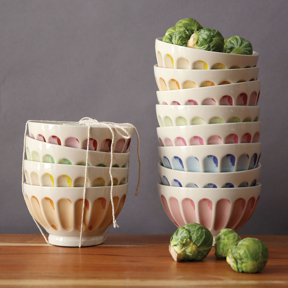 Primavera Bistro Bowls Colors Relish Decor