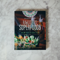 Rawlicious Superfoods Cookbook Relish Decor