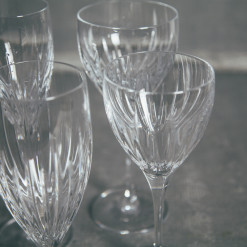 Reed and Barton Soho Crystal Glassware Stemware Collection Glasses Relish Decor