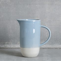 canvas-home-shell-bisque-pitcher-blue-relish-decor