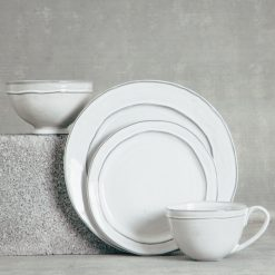 Relish Decor Casafina Dinnerware Park White Set