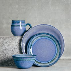 Relish Decor Casafina Sausalito Dinnerware Sets Blue