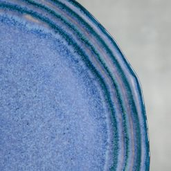 Relish Decor Casafina Sausalito Round Serving Platter Blue