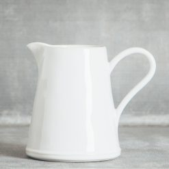 Relish Decor Costa Nova Dinnerware Astoria White Pitcher
