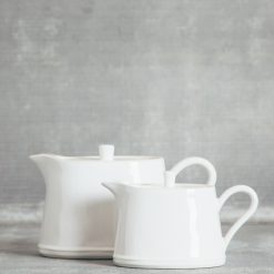 Relish Decor Costa Nova Dinnerware Astoria White Teapot