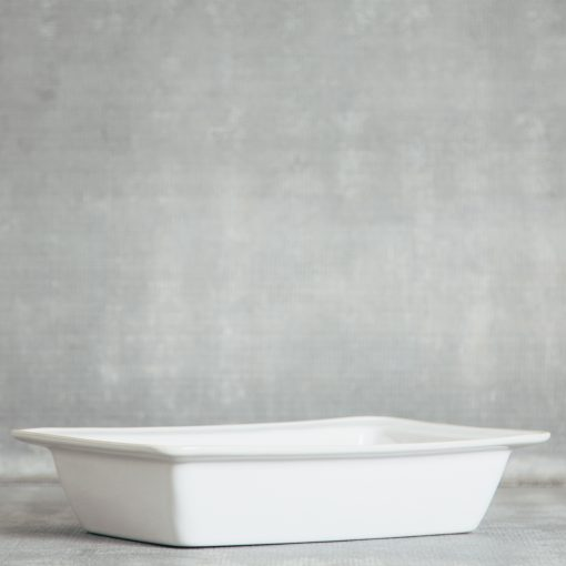 Relish Decor Costa Nova Dinnerware Astoria White Rectangular Baker