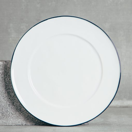Relish Decor Costa Nova Dinnerware Beja Blue Charger Plate
