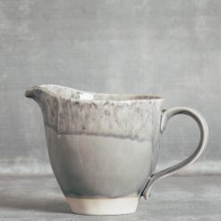 Relish Decor Costa Nova Dinnerware Madeira Grey Pitcher