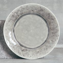 Relish Decor Costa Nova Dinnerware Madeira Grey Dinner Plate