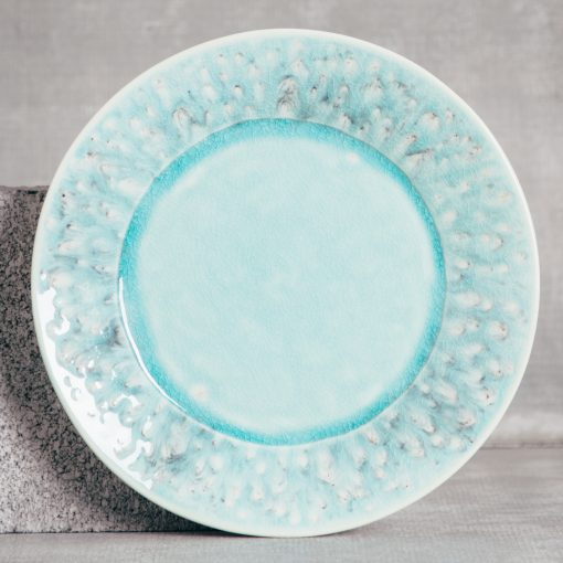 Relish Decor Costa Nova Dinnerware Madeira Blue Place Setting Dinner plate