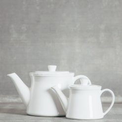 Relish Decor Costa Nova Friso Dinnerware Serving White Teapot