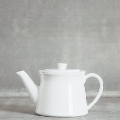 Relish Decor Costa Nova Friso Dinnerware Serving White Teapot Large