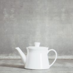 Relish Decor Costa Nova Friso Dinnerware Serving White Teapot Small