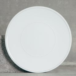 Relish Decor Costa Nova Friso Dinnerware White Charger Plates Set