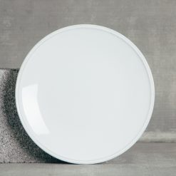 Relish Decor Costa Nova Friso Dinnerware White Dinner Plate Sets