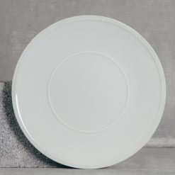 Relish Decor Costa Nova Friso Dinnerware Charger Plate Grey Set