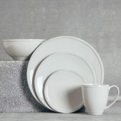 Relish Decor Costa Nova Friso Dinnerware Grey Sets