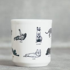 Relish Decor Fishes Eddy Paws Mug Cat