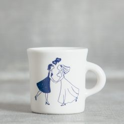 Relish Decor Fishs Eddy women lesbian wedding we do mug