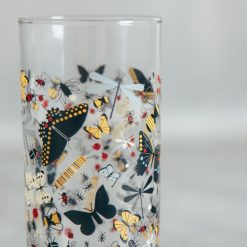 Relish Decor Fishs Eddy gary oldham and todd harper butterflight butterfly juice glass