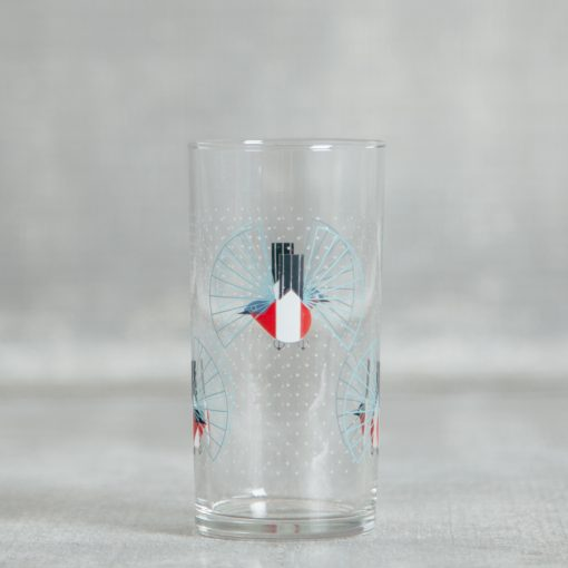 Relish Decor Fishs Eddy oldham harper hummingbird flight juice glass