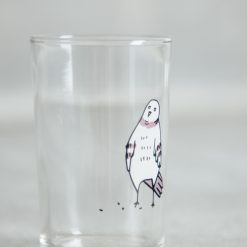 Relish Decor Fishs Eddy pigeon juice glass