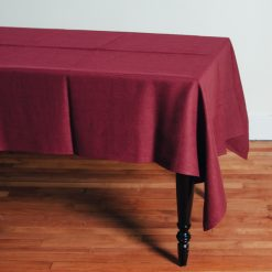 Relish Decor Linomedia Linen Tablecloth Lara cherry red