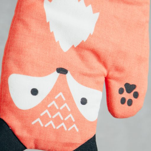 Relish Decor Pot Holder Oven Mitt Critter fox