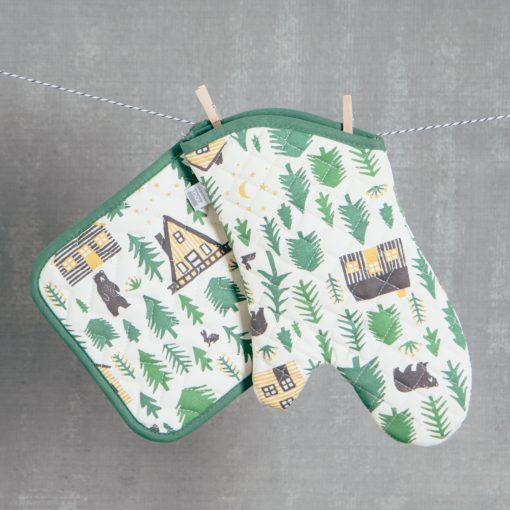 Relish Decor Pot Holder Oven Mitt wild and free