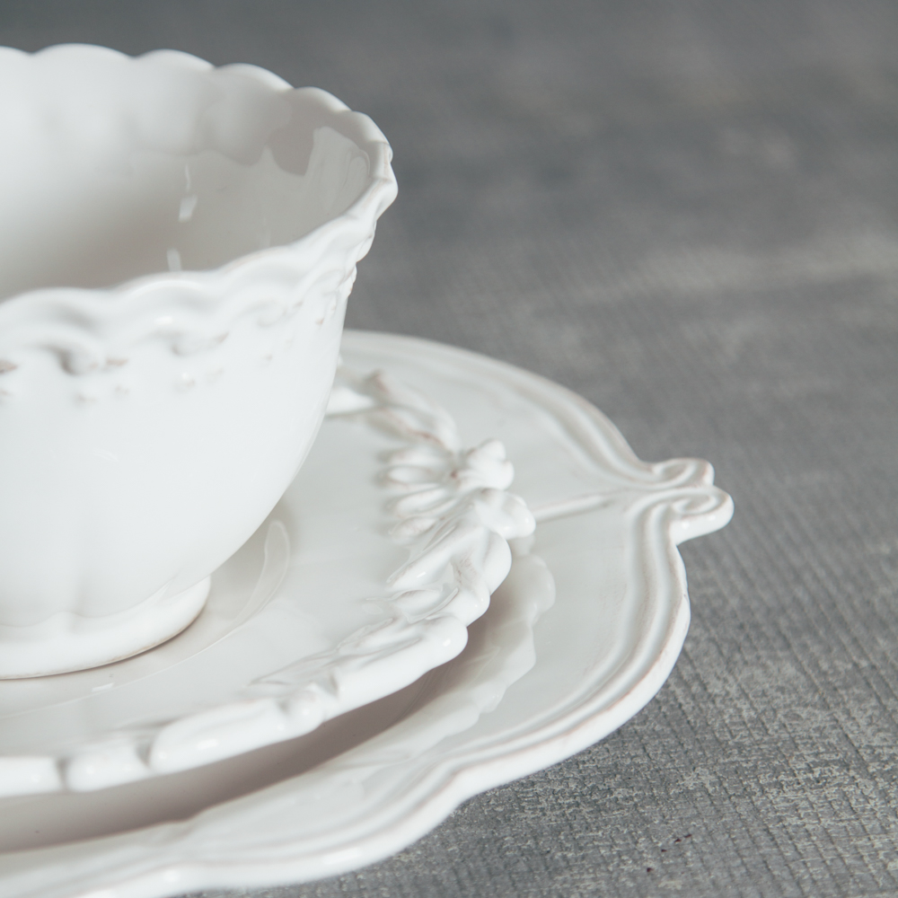 Relish Decor Whites Mix Milano Bristol Dinnerware Collections