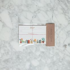 Relish Decor Rifle Paper Co Recipe Cards Kitchen Shelf