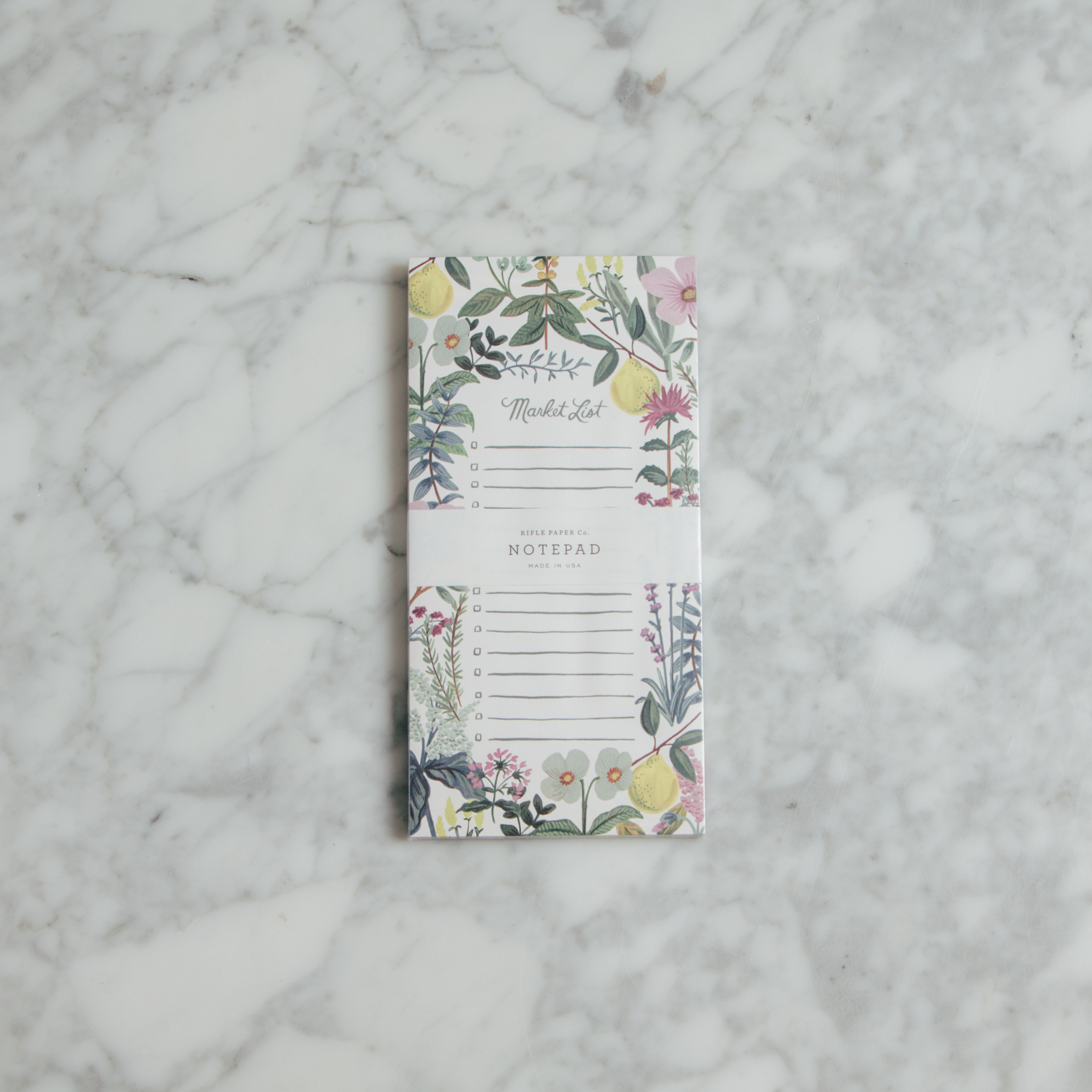 Relish Decor Rifle Paper Co herb garden Market Notepad
