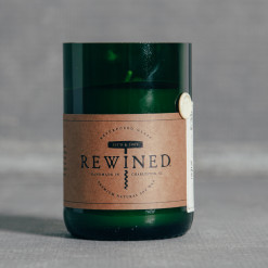 Rewined Candle Champagne Relish Decor