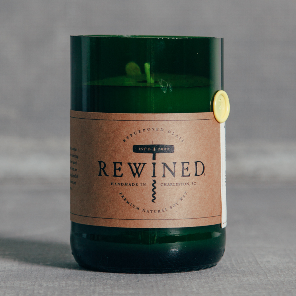 Rewined Candle Chardonnay Relish Decor