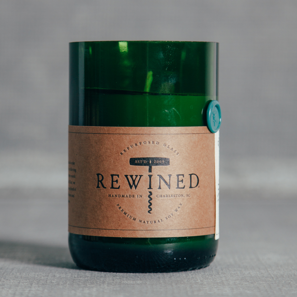 Rewined Candle Riesling Relish Decor