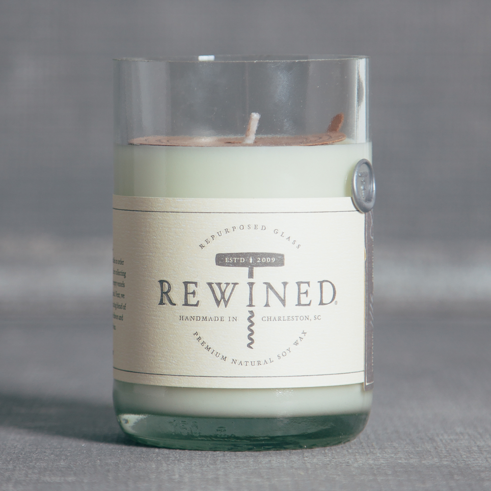 Rewined Rose Candle Relish Decor
