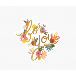 Rifle-Paper-Co-Floral-For-You-die-cut-gift-tags