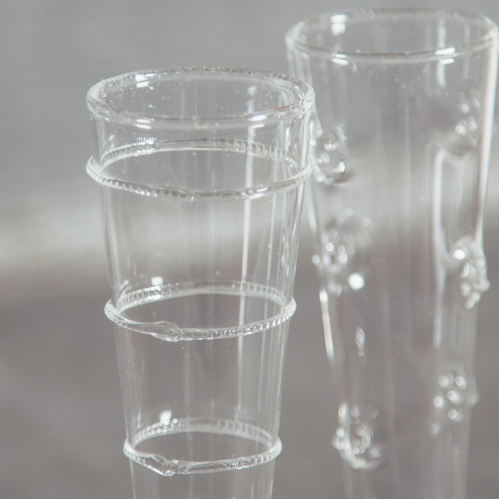 Sabine Glass Champagne Flutes Relish Decor