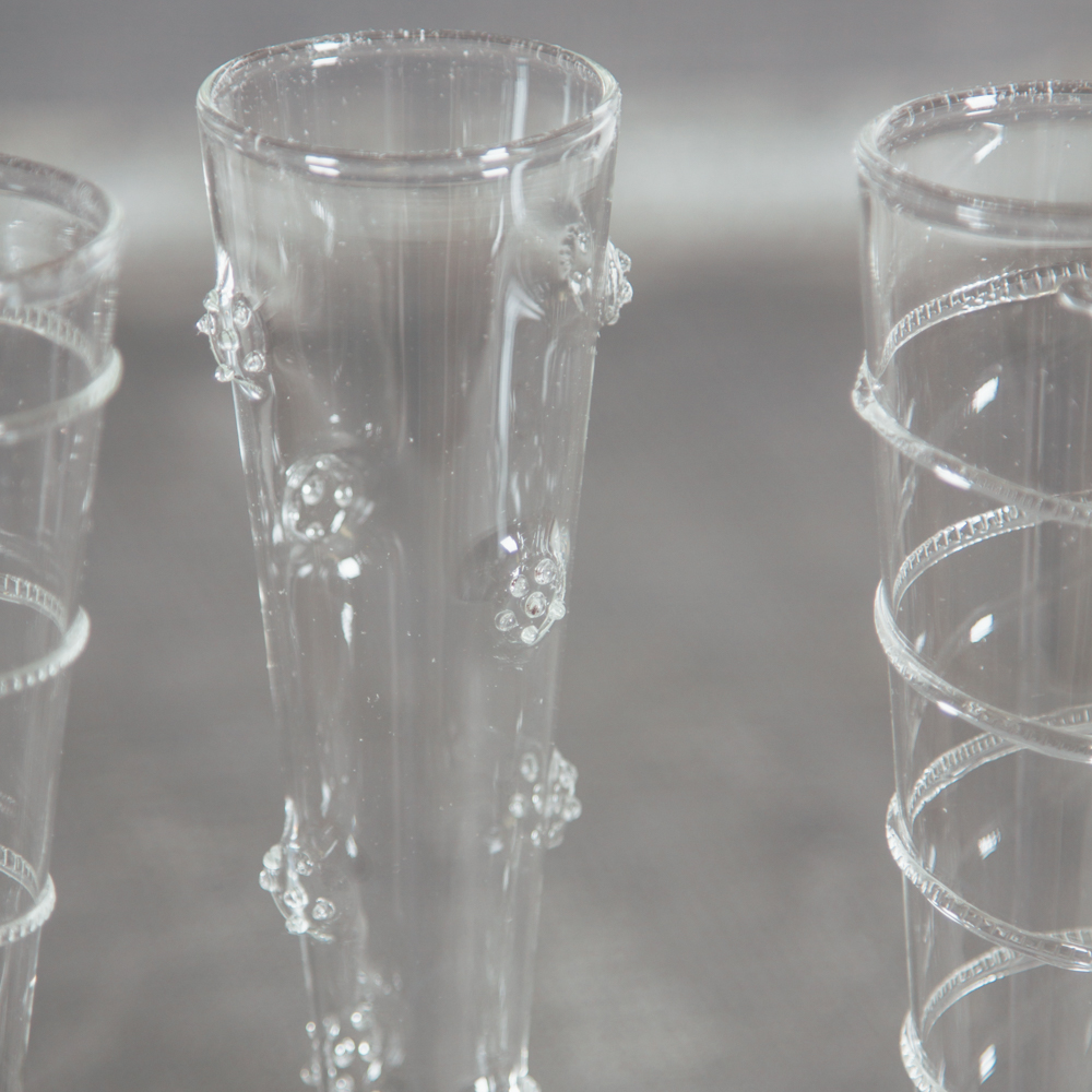 Sabine Glass Designed Champagne Flutes Relish Decor