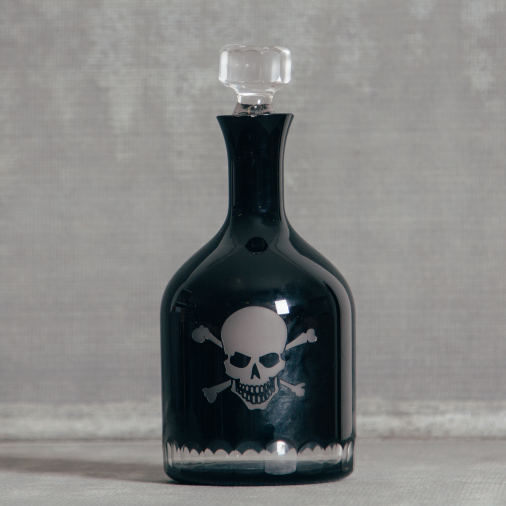 Skellington Crystal Barware Collection Decanter Relish Decor