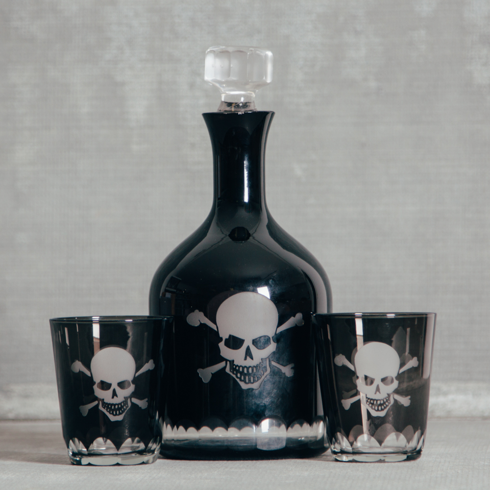 Skellington Crystal Barware Collection Relish Decor